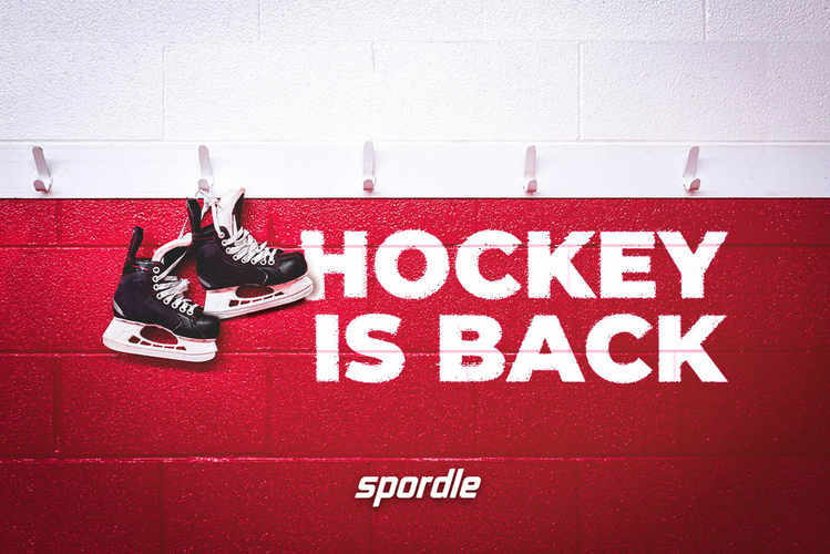 Time to jump back on the ice and have fun