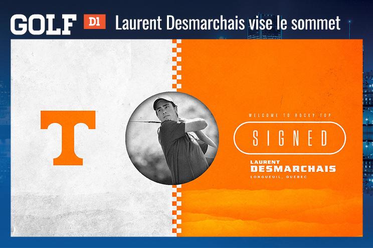 Laurent Desmarchais vise le sommet