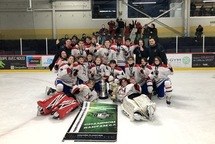 Bantam AA Royal Ouest - Champion à Chateauguay!!