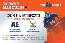 Hockey masculin: Quart de finale contre les Lauréats