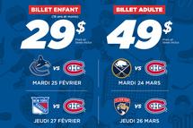 Soirées du Hockey Mineur - Canadiens de Montréal