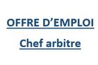 Chef Arbitre CS Titans