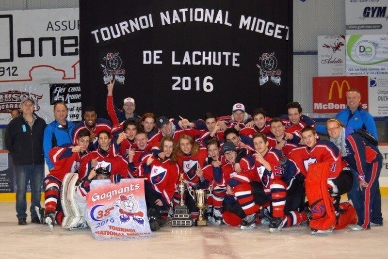 Something is. Tournoi midget de lachute the