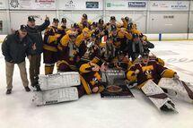 Le Juvénile D1 Champions à Sherbrooke