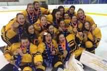 En 2015, le Centre du Québec avait remporté l'or en hockey féminin.
