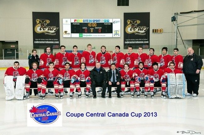 CENTRAL CANADA CUP – 2ND DAY OF THE TOURNAMENT –  First loss for the QJAAAHL St-Louis-Lalime team