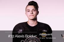 Alexis Bolduc: un modèle à suivre