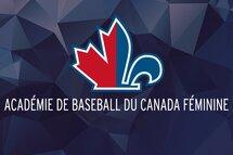 Des informations sur l'Académie de baseball du Canada féminine