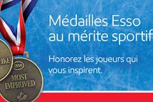 Le programme des médailles ESSO