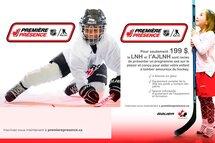 Initiez votre jeune au hockey avec le programme  Première Présence de la LNH/AJLNH