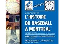 Exposition Gratuite dans le cadre du grand weekend Montréal est baseball