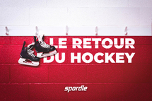 Un retour au hockey un peu différent, mais tout aussi amusant
