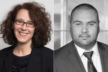 Mme Geneviève Paquette et M. Victor Henriquez, nouveaux membres cooptés du conseil d'administration de Hockey Québec