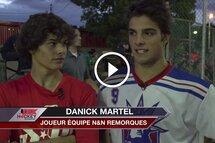 Les frères Danick Martel et Hugo Martel