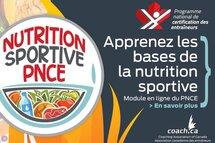 Module «Nutrition sportive» du PNCE
