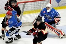 CENTRAL CANADA CUP – 2ND DAY OF THE TOURNAMENT –  First win in the tournament for the OJHL NE team