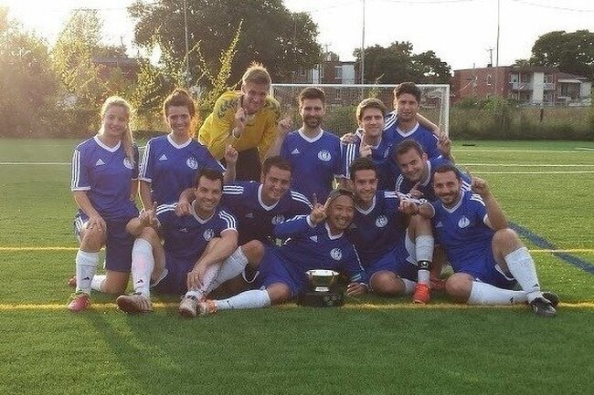 TouchéPHD! champions de la Coupe Normand 2014!