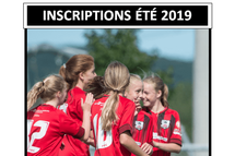 Le début des inscriptions pour la saison estivale 2019 est à nos portes!