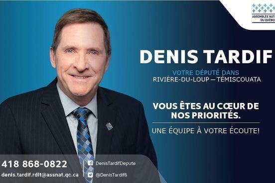 M. Denis Tardif aide au Soutien à l'action bénévole