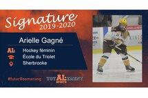 Arielle Gagné-photo gracieuseté de l'athlète
