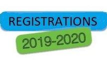 Season  2019-2020 Registration