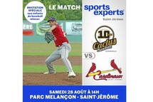 Match Sports Experts pour le baseball mineur