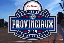 Alignement pour le championnat provincial Moustique
