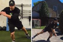 Deux exercices physiques adaptés pour les hockeyeurs
