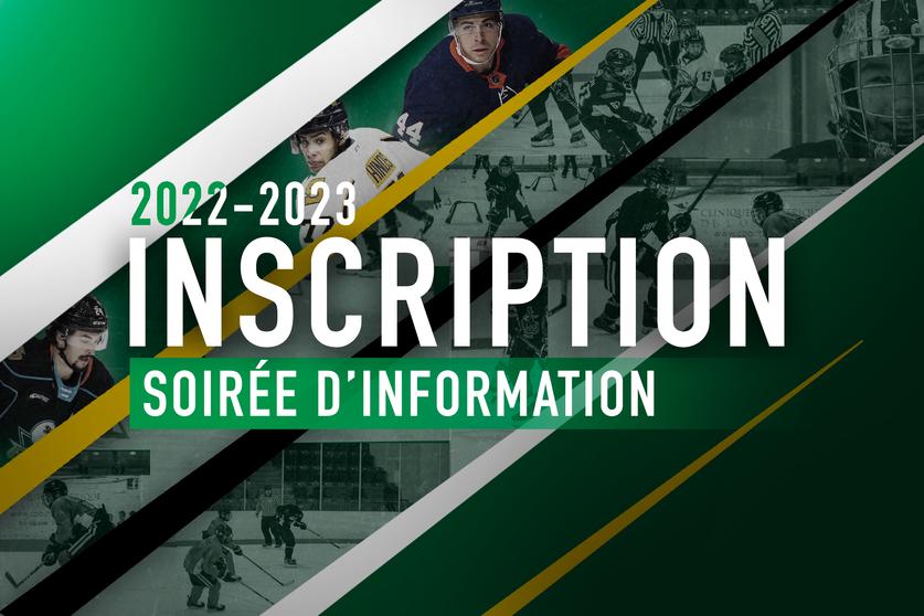 Rencontre d'information- inscription (Visioconférence | Gratuite) Sport-Études hockey 2022-2023