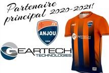 FC Anjou annonce Geartech Technologies comme partenaire principal!