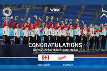 Le Canada remporte la médaille de bronze aux Jeux Olympiques de Tokyo 2020 !