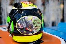 Alex Tagliani's NASCAR Canadian Tire Series Race Helmet -- SIGNED!