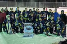 Les Chevaliers Bantam A Champions de la Classique Hivernale Saint-Zotique 2020 !!!