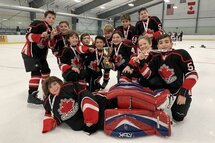 Peewee A Canucks Win the Gobble Gobble Cup
