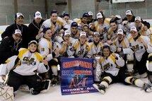 Les Bombardiers Midget AA, champions 2015 de la Coupe Montréal !
