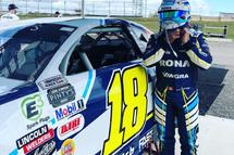 Alex Tagliani at Flamboro Speedway