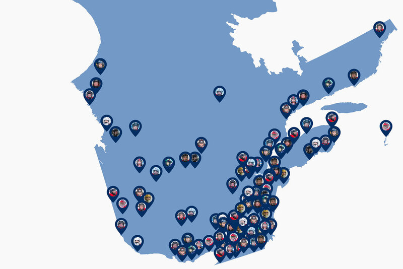 Début des activités de hockey: merci à tous nos membres!