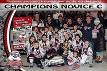Champions Novice C- Patriotes de St-Eustache