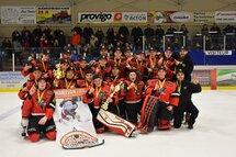 Les Voltigeurs de Drummondville, champions Midget