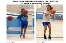 (Cairo Henning 15, is in her 7th season with SLAM CAMP)