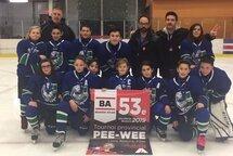 Félicitations à nos Grizzly Nordiques PeeWee A, Finalistes au Tournoi de Ste-Marie