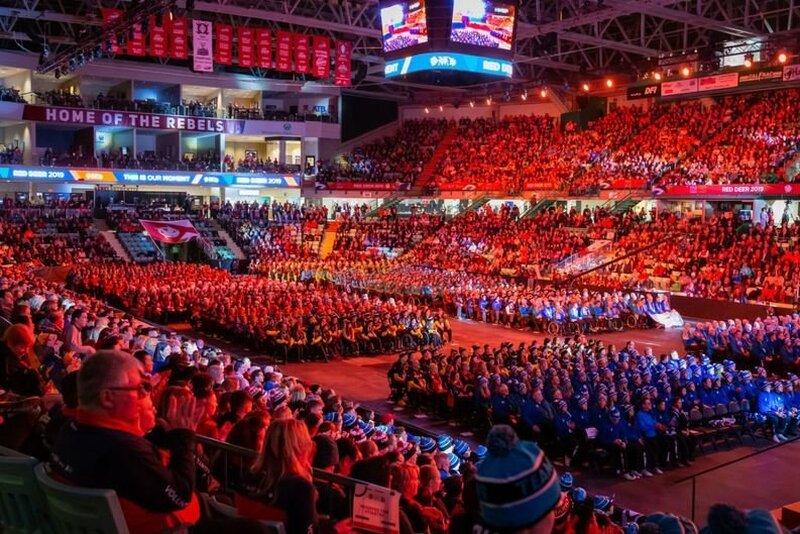 La délégation du Québec fait son entrée aux Jeux du Canada