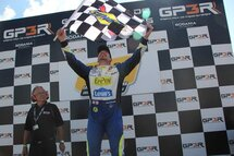 Alex Tagliani scored his first win of the season on Sunday and his first-ever NASCAR Pinty's victory on the temporary street course of Circuit de Trois-Rivières.
