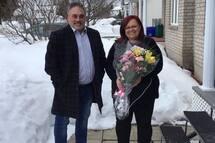 Marc Lafontaine accompagné de Sylvie Gagnon