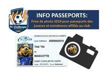 INFO prise de photos de passeport 2018: suivez ce lien pour les détails!