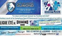 Hockey Laval et le Complexe Sportif Guimond t'invite à te joindre à la LHG Jr.