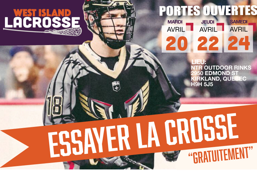 Coup d'envoi de WILA Lacrosse !!!! … .OUI CELA SE PASSE !!!!