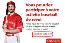 Quelle est votre activité baseball de rêve?