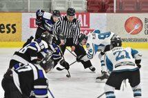 Les Panthères ont perdu la série quart de finale contre l'Arctic de Saint-Léonard en six parties.  ©TC Media - archives Élaine Nicol