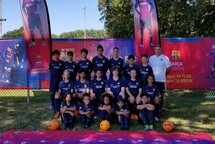 2019 Barça Camp Greenfield Park's players!